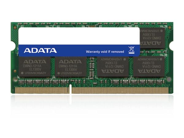SO DDR3  8GB PC 1600 CL11 ADATA Value 1,35V