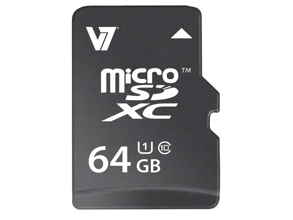 V7 MICROSD CARD 64GB MICROSDXC