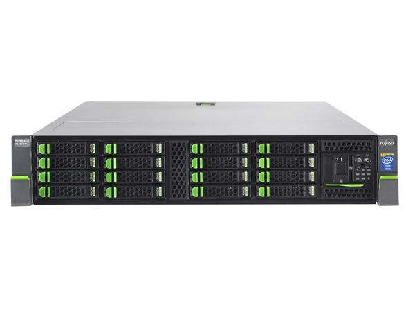 Fujitsu PRIMERGY RX2520 M1 - Server - Rack-Montage - 2U - zweiweg - 1 x Xeon E5-2403V2 / 1.8 GHz