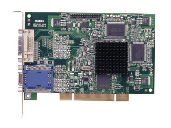 Matrox Millennium G450 PCI - Grafikkarten - MGA G450 - 32 MB DDR - PCI - DVI, D-Sub, TV-Ausgang