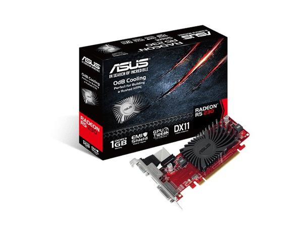 ASUS R5230-SL-1GD3-L - Grafikkarten - Radeon R5 230 - 1 GB DDR3 - PCIe 2.1 x16 Low Profile - DVI, D-Sub, HDMI