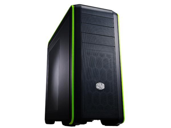 Cooler Master CM 690 III - Midi Tower - ATX - ohne Netzteil ( ATX / PS/2 ) - grün - USB/Audio