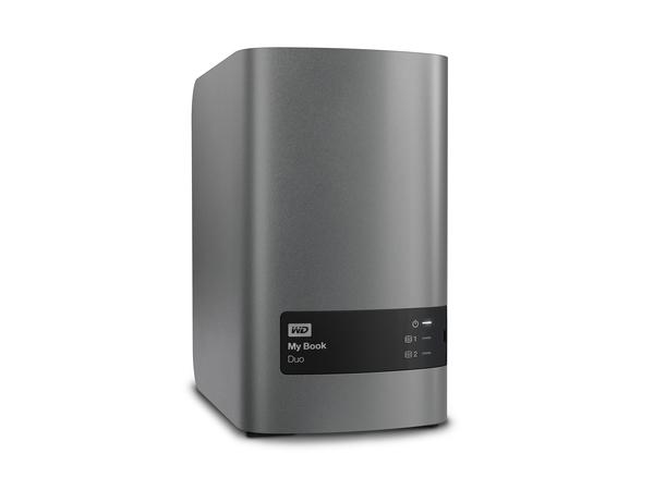 WD My Book Duo WDBLWE0060JCH - Festplatten-Array - 6 TB - 2 Schächte 3 TB x 2 - USB 3.0 (extern)