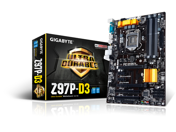 GIGA GA-Z97P-D3 S1150 Z97/HDMI/USB3/COM/ATX