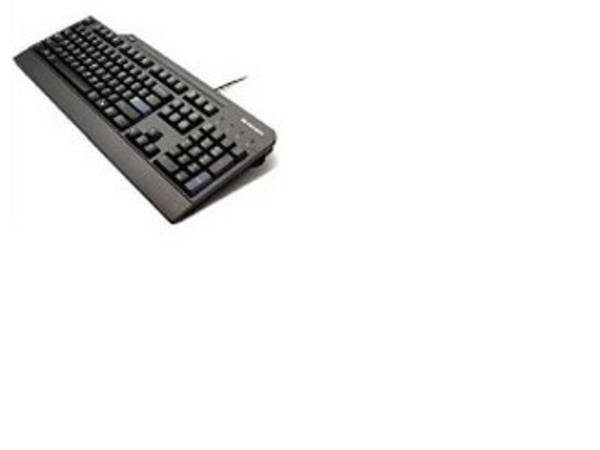Lenovo Smartcard - Tastatur - USB - Französisch / Deutsch (Schweiz) - Business Black - für ThinkPad E47X; E57X; L470; L570; P51; T470; T570; ThinkPad Yoga 370; V510