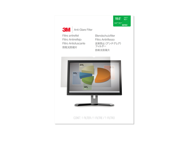 3M AG19.0 - Display-Blendschutzfilter - 48.3 cm (19