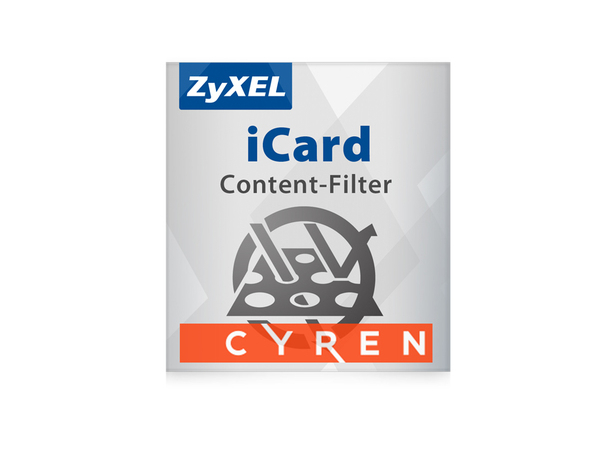 Zyxel E-iCard Cyren Content Filtering - URL-Datenbankaktualisierung - Abonnement - 1 Jahr - für Zyxel USG60W