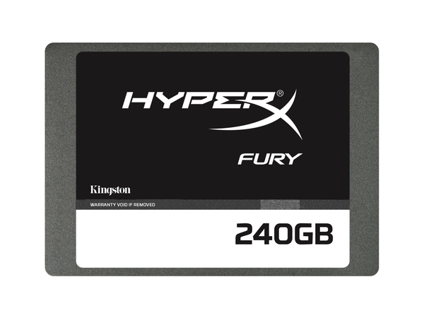 Kingston HyperX FURY - Solid-State-Disk - 240 GB - intern - 6.4 cm (2.5