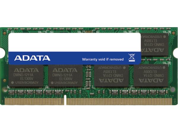 ADATA Premier Series - DDR3L - 4 GB - SO DIMM 204-PIN - 1600 MHz / PC3L-12800 - CL11