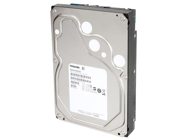 Toshiba MG04SCA400E - Festplatte - 4 TB - intern - 8.9 cm (3.5