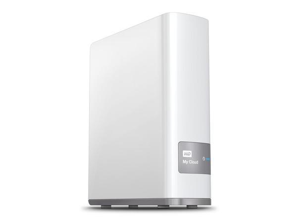 WD My Cloud WDBCTL0060HWT - NAS-Server - 6 TB - HDD 6 TB x 1 - Gigabit Ethernet