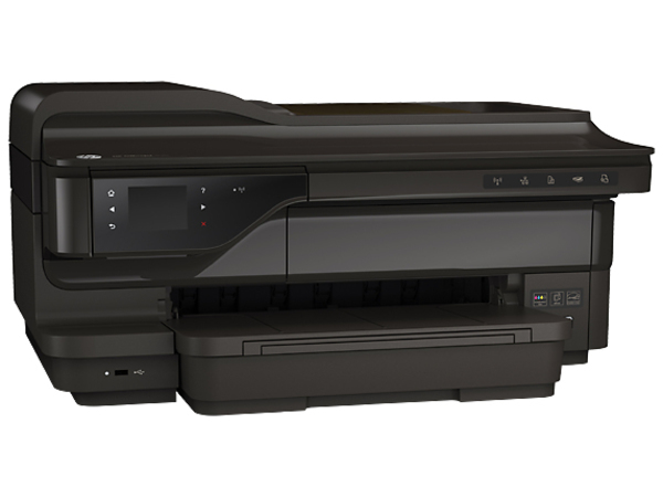 HP Officejet 7612 Wide Format e-All-in-One - Multifunktionsdrucker - Farbe - Tintenstrahl - A3/Ledger (297 x 432 mm) (Original) - 330.2 x 1117.6 mm (Medien)