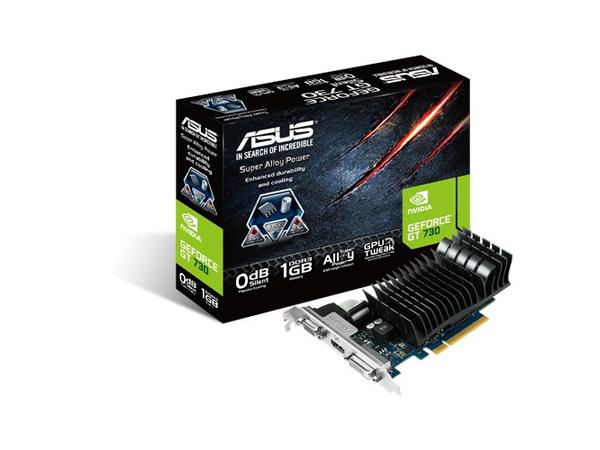 ASUS GT730-SL-1GD3-BRK - Grafikkarten - GF GT 730 - 1 GB GDDR3 - PCIe 2.0 x16 - DVI, D-Sub, HDMI