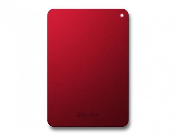 BUFFALO MiniStation Safe - Festplatte - 1 TB - extern (tragbar) - USB 3.0 - Rot