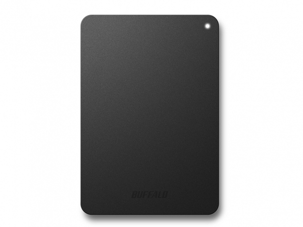 BUFFALO MiniStation Safe - Festplatte - 2 TB - extern (tragbar) - USB 3.0 - Schwarz