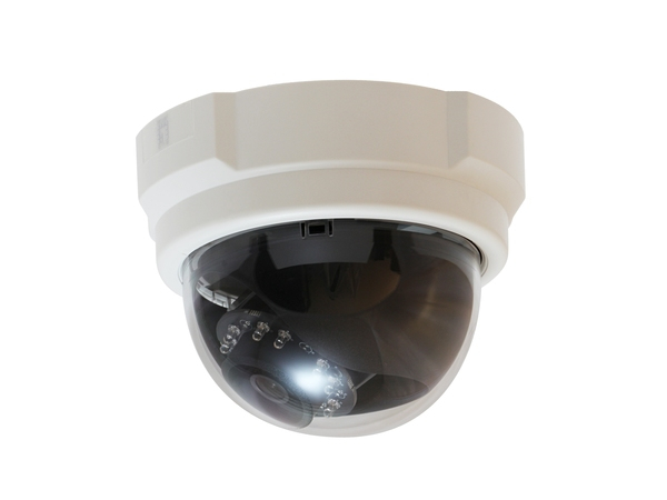 LevelOne Fixed Dome Network Camera, 5-Megapixel, PoE 802.3af, Day & Night, IR LEDs, WDR, IP security camera, Kuppel, Schwarz, Weiß, Decke/Wand, Leistung, 2592 x 1944 Pixel