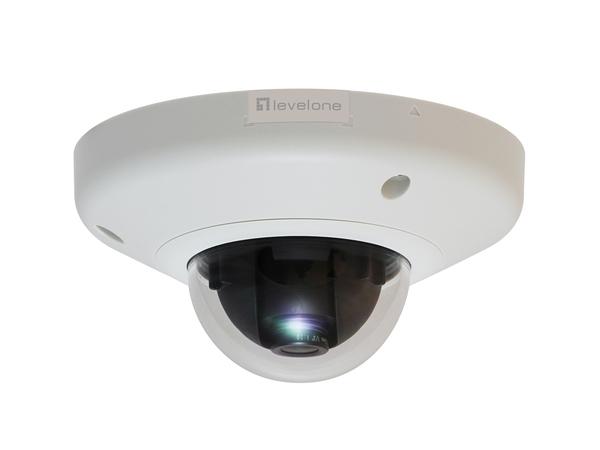 LevelOne FCS-3065 - Netzwerk-Überwachungskamera - Kuppel - vandalismusgeschützt - Farbe - 5 MP