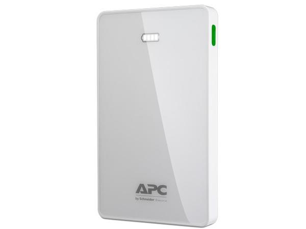APC Mobile Power Pack - Ladegerät Li-Pol 10000 mAh - 2.4 A - 2 Ausgabeanschlussstellen (USB (nur Strom)) - weiß