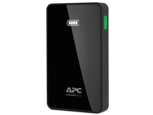 APC Mobile Power Pack - Ladegerät Li-Pol 5000 mAh - 2.4 A - 2 Ausgabeanschlussstellen (USB (nur Strom)) - Schwarz