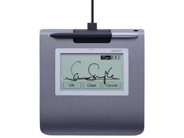 Wacom STU-430 - Unterschriften-Terminal mit LCD Anzeige - 9.6 x 6 cm - elektromagnetisch - verkabelt - USB