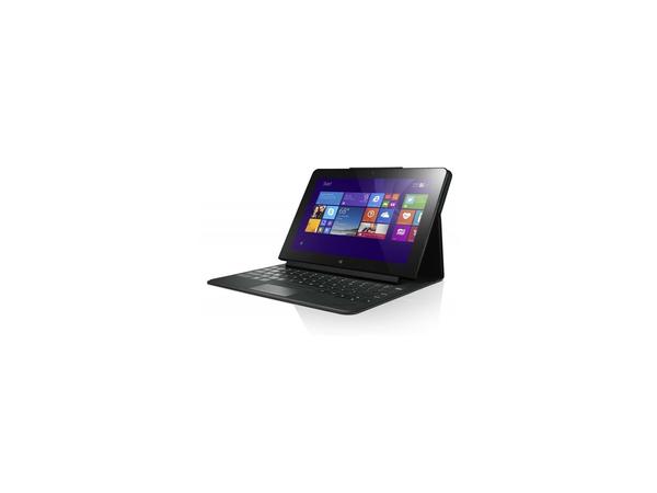Lenovo ThinkPad 10 Touch Case - Tastatur und Foliohülle - Deutsch - Schwarz - für ThinkPad Tablet 10 20C1
