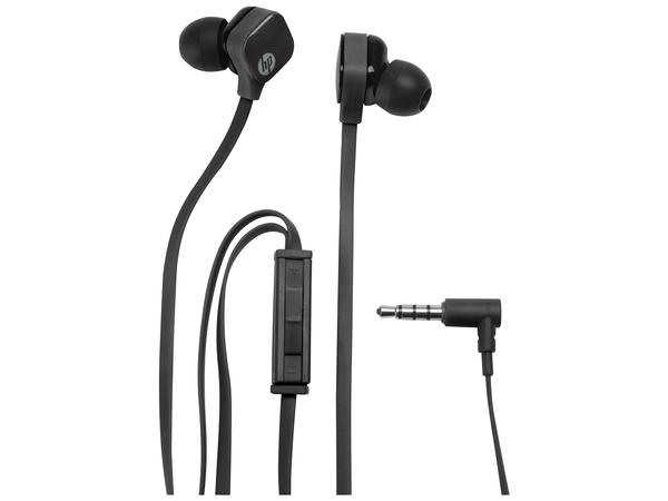 HP H2310 - Headset - im Ohr - Sparkling Black - für HP 8 G2; Pavilion; Pavilion Gaming; Pavilion x360; Slate 10, 8; Spectre x360; x360