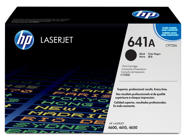 Toner HP Color Laser 46x0 BLACK C9720A