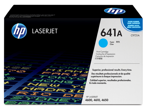Toner HP CLJ4600      cyan        C9721A    8000 Seiten