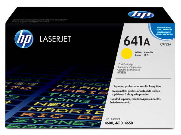 Toner HP Color Laser 46x0 yellow C9722A