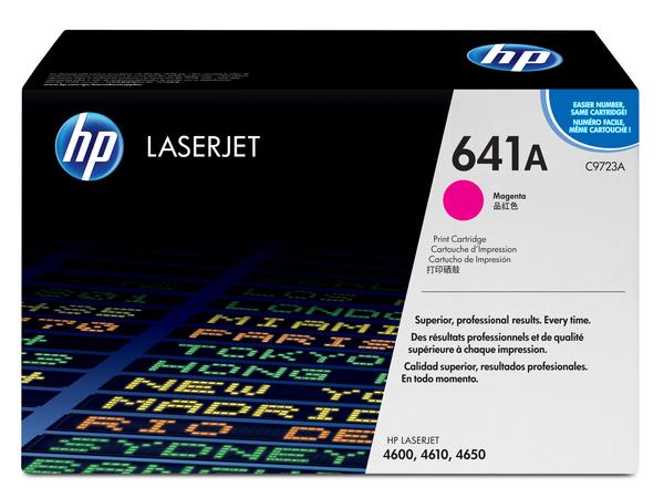 HP 641A - Magenta - Original - LaserJet - Tonerpatrone (C9723A) - für Color LaserJet 4600, 4610, 4650
