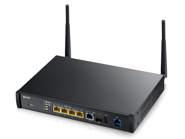 ZyXEL SBG3500-NB - Wireless Router - DSL-Modem - 4-Port-Switch - GigE - 802.11a/b/g/n