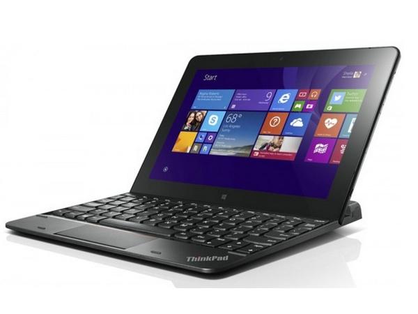Lenovo ThinkPad - Tastatur - Schweiz - Schwarz - für ThinkPad Tablet 10 20C1