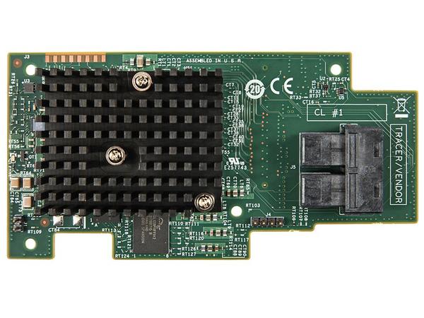 Intel Integrated RAID Module RMS3CC080 - Speichercontroller (RAID) - 8 Sender/Kanal - SATA 6Gb/s / SAS 12Gb/s - 12 GBps - RAID 0, 1, 5, 6, 10, 50, 60