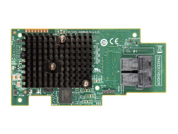 Intel Integrated RAID Module RMS3HC080 - Speichercontroller (RAID) - 8 Sender/Kanal - SATA 6Gb/s / SAS 12Gb/s - 12 GBps - RAID 0, 1, 5, 10, 50, JBOD