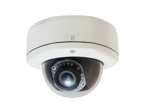 LevelOne FCS-3082 - Netzwerk-Überwachungskamera - Kuppel - Außenbereich - Vandalismussicher / Wetterbeständig - Farbe (Tag&Nacht)