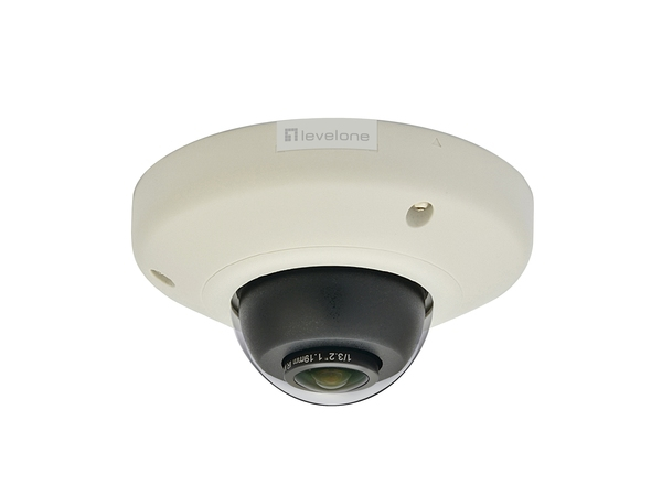 LevelOne FCS-3092 - Panoramakamera - Kuppel - vandalismusgeschützt - Farbe - 5 MP