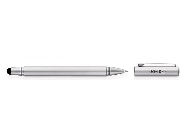 Wacom Bamboo Duo 3Gen - Stift/Kugelschreiber - Silber