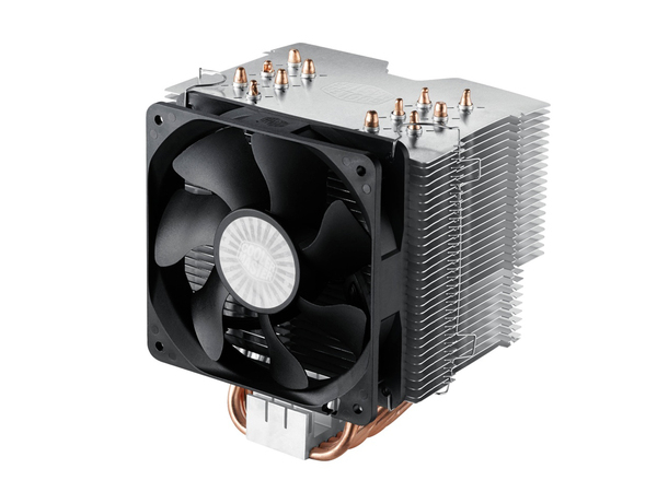 Cooler Master Hyper 612 Ver. 2 - Prozessorkühler - (LGA775 Socket, LGA1156 Socket, Socket AM2, Socket AM2+, LGA1366 Socket, Socket AM3, LGA1155 Socket, Socket AM3+, LGA2011 Socket, Socket FM1,