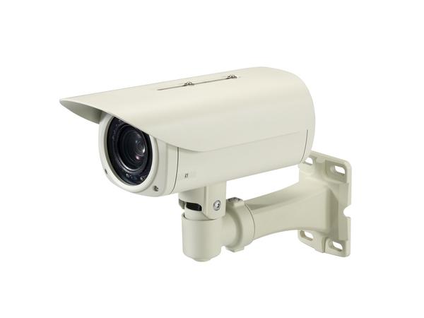 LevelOne FCS-5065 - Netzwerk-Überwachungskamera - Außenbereich - Vandalismussicher / Wetterbeständig - Farbe (Tag&Nacht) - 5 MP