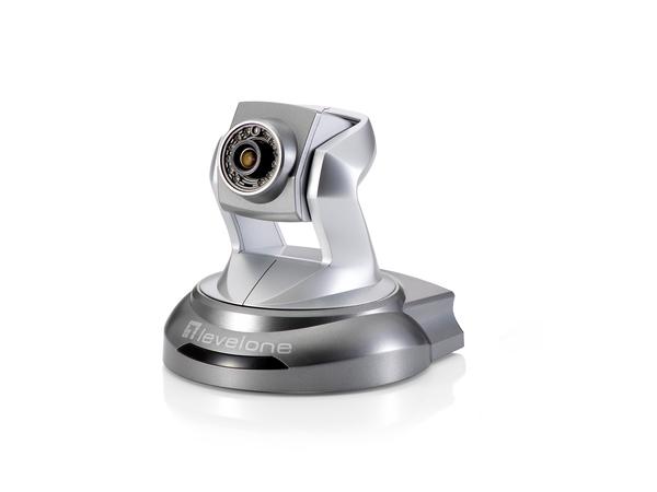 LevelOne FCS-6020 - Netzwerk-Überwachungskamera - schwenken / neigen - Farbe (Tag&Nacht) - 2 MP - 1920 x 1080
