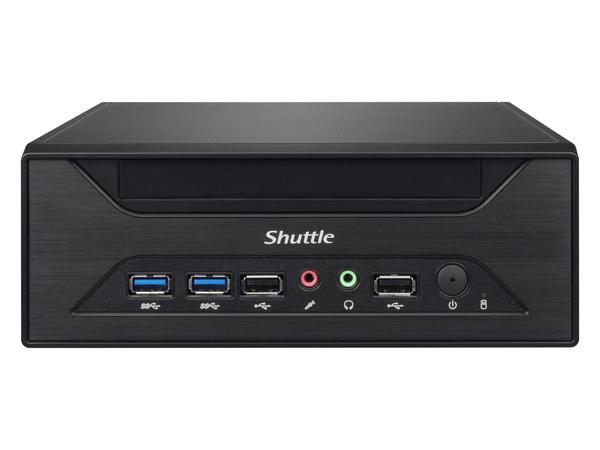 Shuttle XH81 - Barebone - Slim-PC - LGA1150-Sockel - Intel H81 Express - GigE