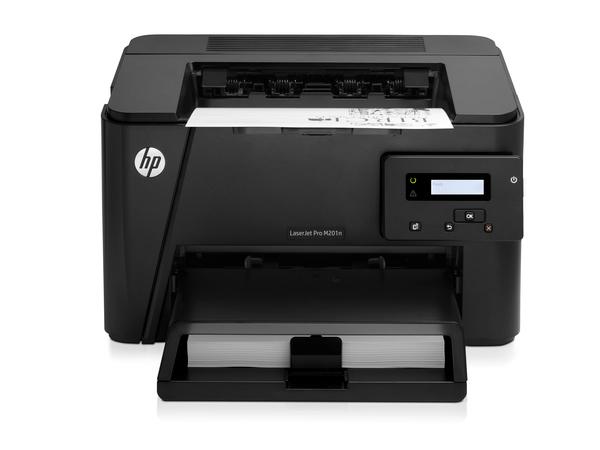 HP LaserJet Pro M201n / 25 ppm s/w / bis zu 600 x 600 x 2 dpi /