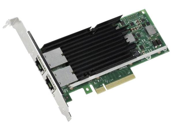 Intel X540-T2 - Netzwerkadapter - PCIe 2.0 x8 Low Profile - 10Gb Ethernet x 2 - für ThinkServer RD340; RD350; RD440; RD450; RD540; RD550; RD640; RD650; TD340; TD350
