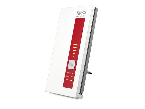 AVM FRITZ!WLAN Repeater 1750E - Wi-Fi-Range-Extender - 10Mb LAN, 100Mb LAN, GigE - 802.11a/b/g/n/ac - Dualband