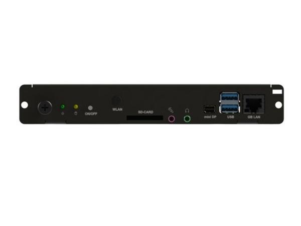 NEC Slot-In PC - Digital Signage-Player - Intel Celeron - RAM 2 GB - Festplatte 32 GB - Windows 7 Embedded