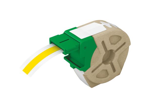 Leitz - Etikettenband - self-adhesive - Gelb - Rolle (1,27 cm x 11,8 cm) 1 Rolle(n) - für Leitz Icon Smart Labeling System