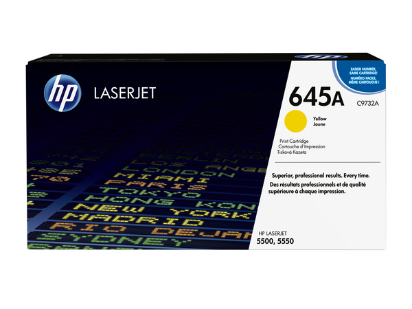 Toner HP Color Laser 55x0 yellow C9732A