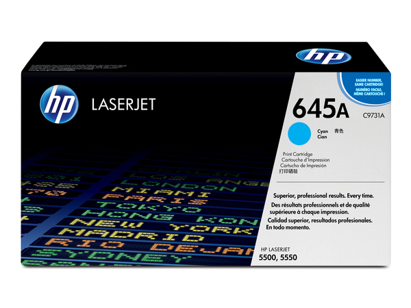Toner HP Color Laser 55x0 cyan C9731A