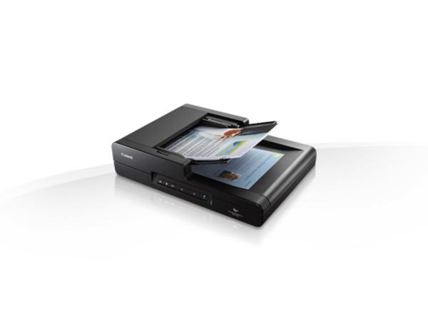 Canon imageFORMULA DR-F120 - Dokumentenscanner - Duplex - Legal - 600 dpi x 600 dpi - bis zu 20 Seiten/Min. (einfarbig) / bis zu 10 Seiten/Min. (Farbe)