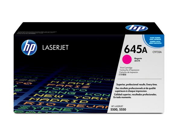 HP 645A - Magenta - Original - LaserJet - Tonerpatrone (C9733A) - für Color LaserJet 5500, 5550